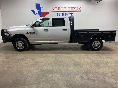 2017 Ram 2500 Tradesman 4x4 Diesel Flatbed Touch Screen Camera Ranch Hand Mansfield TX