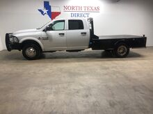 2017_Ram_3500 Chassis Cab_3500 DRW 4x4 6.7 Diesel Aisin Crew CM Flatbed Touch Screen_ Mansfield TX