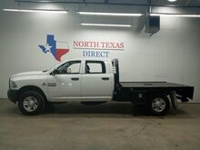 2017_Ram_3500 Chassis Cab_FREE DELIVERY Tradesman 4x4 Diesel Flatbed Touch Screen Bluetoot_ Mansfield TX