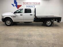 2017_Ram_3500 Chassis Cab_Tradesman 4x4 Diesel Flatbed Bluetooth Keyless Crew_ Mansfield TX
