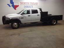 2017_Ram_5500 Chassis Cab_Tradesman 5500 4x4 Diesel Crew Aisin Flatbed Fuel Tank_ Mansfield TX