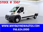 2017 Ram ProMaster 2500 ~ High Roof Ext ~ Only 22K Miles!