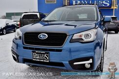 2017_Subaru_Forester_Touring / AWD / Eye Sight Pkg / Power & Heated Leather Seats / Heated Steering Wheel / Navigation / Panoramic Sunroof / Harman Kardon Speakers / Bluetooth / Blind Spot Assist / Back Up Camera / Tow Pkg / 1-Owner_ Anchorage AK