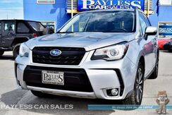 2017_Subaru_Forester_XT Touring / AWD / Automatic / Eye Sight Pkg / Heated Leather Seats / Heated Steering Wheel / Navigation / Panoramic Sunroof / Harman Kardon Speakers / Auto Start / Bluetooth / Back-Up Camera / Cargo Cage / 1-Owner_ Anchorage AK