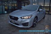 2017 Subaru Impreza Sport / AWD / Eye Sight Pkg / Heated Seats / Harman Kardon Speakers / Sunroof / Adaptive Cruise / Blind Spot & Collision Alert / Lane Departure Alert / Bluetooth / Back Up Camera / Low Miles / 36 MPG / 1-Owner