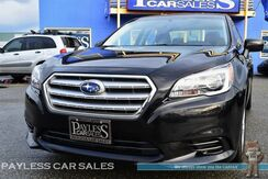 2017_Subaru_Legacy_Premium / AWD / Automatic / Heated Power Seats / Auto Start / Bluetooth / Back-Up Camera / 34 MPG / 1-Owner_ Anchorage AK