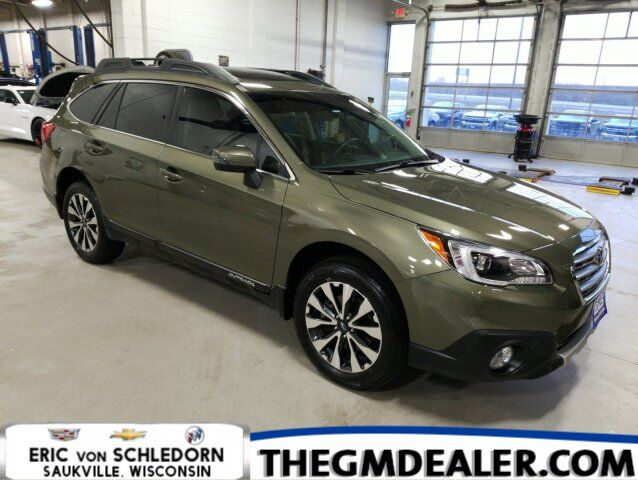 2017 Subaru Outback 2.5i Limited AWD PopularPkg#5 w/Sunroof HtdMemLthr 18s RearCamera Milwaukee WI