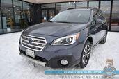 2017 Subaru Outback 3.6R Limited / AWD / Eye Sight Pkg / Heated Leather Seats / Navigation / Sunroof / Harman Kardon Speakers / Lane Departure & Collision Alert / Adaptive Cruise / Blind Spot Alert / Keyless Entry & Start / 1-Owner
