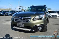 2017_Subaru_Outback_Limited / AWD / Eye Sight Pkg / Front & Rear Heated Leather Seats / Navigation / Sunroof / Harman Kardon Speakers / Auto Start / Bluetooth / Back Up Camera / Adaptive Cruise Control / 32 MPG_ Anchorage AK