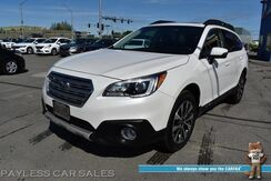 2017_Subaru_Outback_Limited / AWD / Eye Sight Pkg / Front & Rear Heated Leather Seats / Sunroof / Navigation / Harman Kardon Speakers / Lane Departure & Blind Spot Alert / Adaptive Cruise / Back Up Camera / Aluminum Wheels / 32 MPG / 1-Owner_ Anchorage AK