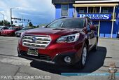 2017 Subaru Outback Premium / AWD / Automatic / Eye Sight Pkg / Power & Heated Seats / Bluetooth / Back Up Camera / Blind Spot Alert / Lane Departure Alert / Adaptive Cruise Control / 32 MPG / 1-Owner