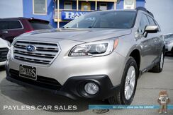 2017_Subaru_Outback_Premium / AWD / Automatic / Power & Heated Seats / Eye Sight Pkg / Blind Spot Assist / Adaptive Cruise Control / Bluetooth / Back-Up Camera / 32 MPG / Tow Pkg / 1-Owner_ Anchorage AK
