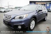 2017 Subaru Outback Premium / AWD / Eye Sight Pkg / Power & Heated Seats / Bluetooth / Back Up Camera / 32 MPG / 1-Owner