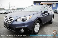 2017_Subaru_Outback_Premium / AWD / Eye Sight Pkg / Power & Heated Seats / Bluetooth / Back Up Camera / 32 MPG / 1-Owner_ Anchorage AK