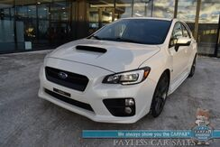 2017_Subaru_WRX_Limited / 6-Spd Manual / Heated Leather Seats / Harman Kardon Speakers / Sunroof / Navigation / Blind Spot Alert / Bluetooth / Back Up Camera / Cruise Control / 27 MPG_ Anchorage AK