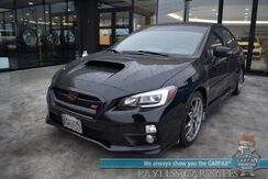 2017_Subaru_WRX_STI Limited / AWD / 6-Spd Manual / Heated Bucket Seats / Navigation / Sunroof / Harman Kardon Speakers / Blind Spot Alert / Bluetooth / Back Up Camera / Keyless Entry & Start / Low Miles / 1-Owner_ Anchorage AK