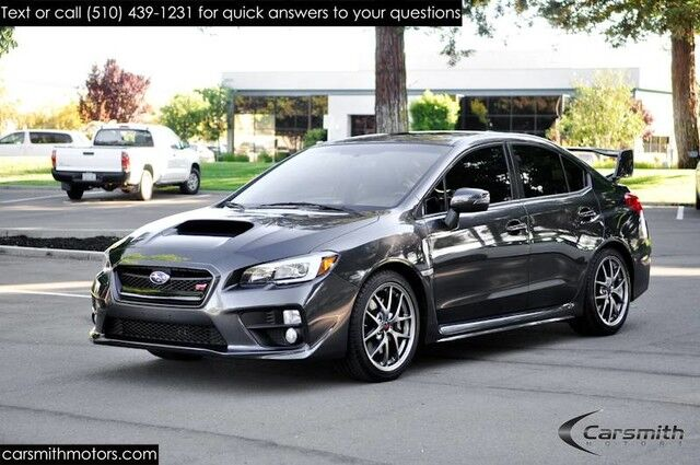 2017 Wrx Limited >> 2017 Subaru WRX STI Limited Only 8K Miles Loaded Super
