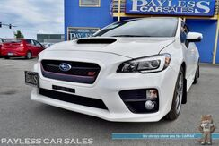 2017_Subaru_WRX STI Sedan_Limited / AWD / 6-Speed Manual / Turbocharged / Power & Heated Leather Seats / Navigation / Sunroof / Harman Kardon Speakers / Bluetooth / Back-Up Camera / Blind Spot Alert / 1-Owner_ Anchorage AK
