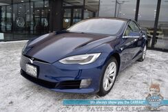 2017_Tesla_Model S_100D / AWD / Dual Motor / Smart Air Suspension / Auto Pilot / Heated Leather Seats / Panoramic Sunroof / Adaptive Cruise Control / Navigation / Bluetooth / Back Up Camera / 335 Mile Range / 1-Owner_ Anchorage AK