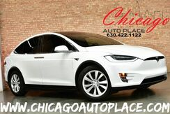 2017_Tesla_Model X_90D - SUBZERO PACKAGE 1 OWNER NAVIGATION BACKUP CAMERA PARKING SENSORS CARBON FIBER INTERIOR TRIM SUEDE HEADLINER 3RD ROW_ Bensenville IL
