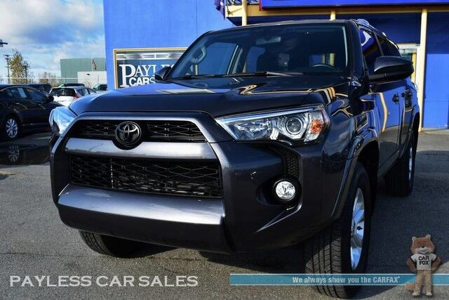 2017 Toyota 4Runner SR5 / 4X4 / Power Driver's Seat / Navigation / Bluetooth / Back Up Camera / 3rd Row / Seats 7 / Tow Pkg / 1-Owner Anchorage AK
