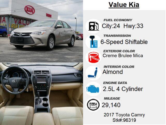 2017 Toyota Camry LE Philadelphia  PA