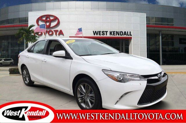 2017 Toyota Camry Se For Sale West Kendall Toyota In