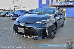 2017_Toyota_Corolla_SE / 6-Spd Manual / Sunroof / Lane Departure Alert / Forward Collision Assist / Bluetooth / Back Up Camera / Keyless Entry & Start / HID Headlights / Block Heater / USB & AUX Jacks / 1-Owner_ Anchorage AK