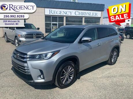 2017 Toyota Highlander XLE   - Sunroof - Leather Seats Quesnel BC