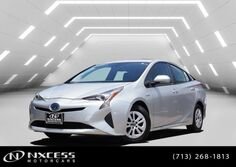 Toyota Prius Three Touring Lane Departure Lane Assist Backup Camera. 2017