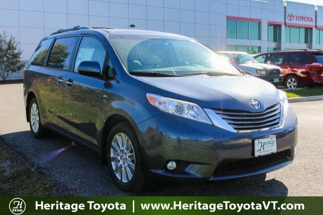 2017 Toyota Sienna XLE South Burlington VT