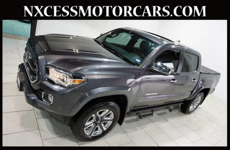2017 Toyota Tacoma 2WD V6 Double Cab 3.5 Limited Navigation Roof Warranty! Houston TX