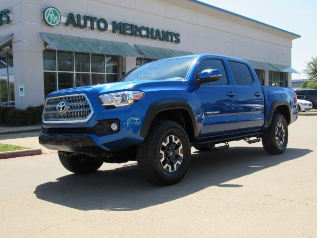 2017 Toyota Tacoma Sr5 Double Cab Long Bed V6 6at 4wd Premium Technology Pkg Trd Off Road Navigation Sunroof Plano Tx 29257961