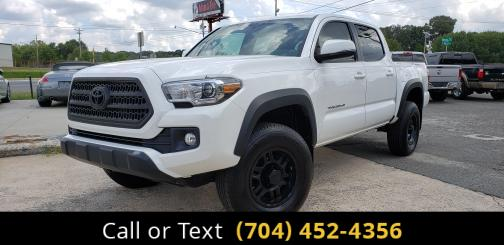 2017 Toyota Tacoma TRD Off-ROAD DOUBLE CAB4WD Charlotte and Monroe NC