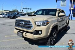 2017_Toyota_Tacoma_TRD Sport / 4X4 / Double Cab / Automatic / Auto Start / Heated Seats / Navigation / Blind Spot Alert / Bluetooth / Back Up Camera / Sunroof / Bed Liner / Tow Pkg / Block Heater_ Anchorage AK
