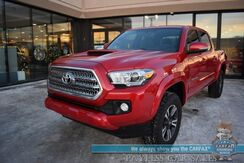 2017_Toyota_Tacoma_TRD Sport / 4X4 / Double Cab / Automatic / Navigation / Bluetooth / Back Up Camera / Cruise Control / Keyless Start / Bed Liner / Tow Pkg / 20 MPG_ Anchorage AK