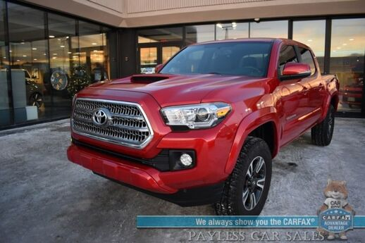 2017 Toyota Tacoma TRD Sport / 4X4 / Double Cab / Automatic / Navigation / Bluetooth / Back Up Camera / Cruise Control / Keyless Start / Bed Liner / Tow Pkg / 20 MPG Anchorage AK