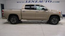 2017_Toyota_Tundra_4x4 Crew Cab LIMITED: 5.7L-TRD-SHORT-NAV-REVERSE CAMERA-LEATHER-CD PLAYER-4X4-1 OWNER_ Fond du Lac WI