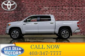 2017_Toyota_Tundra_4x4 Crew Cab Platinum Leather Roof Nav_ Red Deer AB
