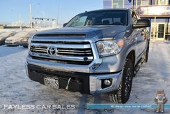2017_Toyota_Tundra_SR5 / TRD Off-Rd Pkg / 4X4 / Double Cab / 5.7L V8 / Auto Start / Power Driver's Seat / Bluetooth / Back Up Camera / Cruise Control / Bed Liner / Block Heater / Weather Tech Mats / Tow Pkg / 1-Owner_ Anchorage AK