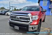 2017 Toyota Tundra SR5 / TRD Off Road Pkg / 4X4 / 5.7L V8 / Double Cab / Navigation / Power Driver's Seat / Bluetooth / Back Up Camera / Cruise Control / Bed Liner / Block Heater / Low Miles / Tow Pkg / 1-Owner