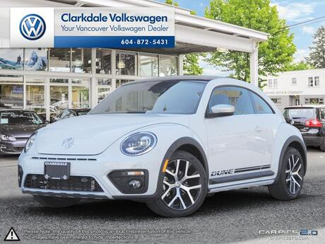 2017 Volkswagen Beetle Coupe 1.8T Dune Vancouver BC