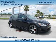 2017 Volkswagen Golf GTI 2.0T 4-Door S DSG South Mississippi MS