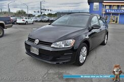 2017_Volkswagen_Golf SportWagen_S / 4Motion AWD / 6-Spd Manual / Heated Seats / Bluetooth / Back Up Camera / Cruise Control / Aluminum Wheels / Low Miles / 36 MPG / 1-Owner_ Anchorage AK
