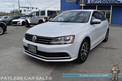 2017_Volkswagen_Jetta_1.4T SE / Heated Leather Seats / Keyless Entry & Start / Sunroof / Blind Spot Alert / Bluetooth / Back Up Camera / Aluminum Wheels / 38 MPG / Only 18k Miles / 1-Owner_ Anchorage AK