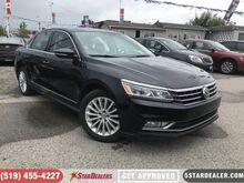 2017_Volkswagen_Passat_1.8 TSI Comfortline   LEATHER   ROOF   1 OWNER_ London ON
