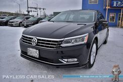 2017_Volkswagen_Passat_1.8T SE / Automatic / Power & Heated Leather Seats / Sunroof / Bluetooth / Back Up Camera / Blind Spot Alert / Aluminum Wheels / Keyless Entry & Start / 38 MPG / 1-Owner_ Anchorage AK