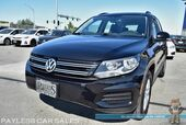 2017 Volkswagen Tiguan Limited / 4Motion AWD / Automatic / Turbocharged / Heated Leather Seats / Bluetooth / Back Up Camera / Keyless Entry & Start / Alloy Wheels / 24 MPG / 1-Owner