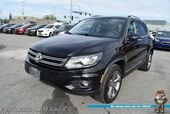 2017 Volkswagen Tiguan Sport / 4Motion AWD / Heated Seats / Navigation / Panoramic Sunroof / Bluetooth / Back Up Camera / Keyless Entry & Start / Aluminum Wheels / Only 14k Miles / 24 MPG / 1-Owner