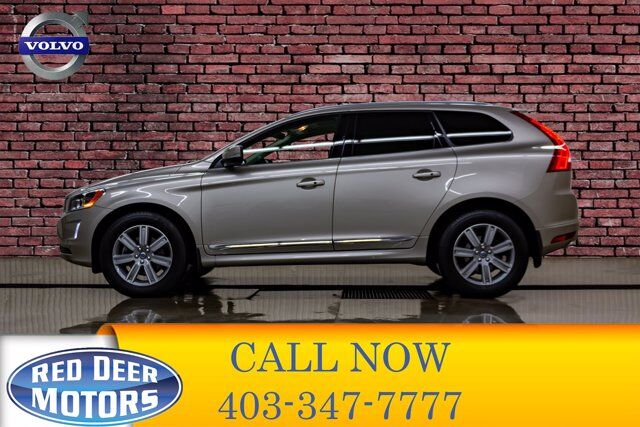 2017 Volvo XC60 AWD T6 Drive-E Premier Leather Roof Nav Red Deer AB